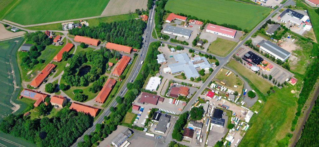 Bild: Luftbild Nienburg Schäferhof