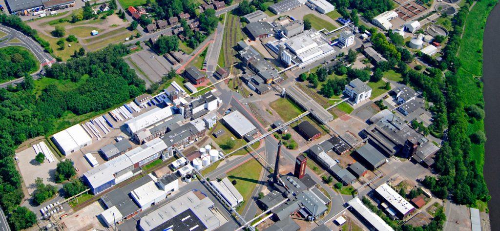 Bild: Luftbild Industriepark Nienburg