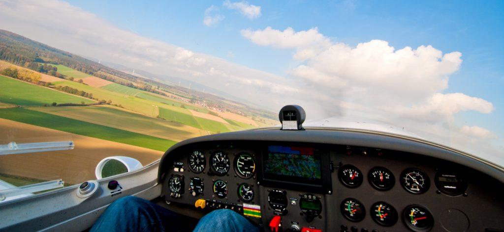 Bild: Cockpit-Ansicht