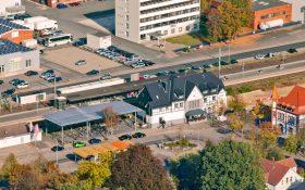 Bild: Bahnhof Springe