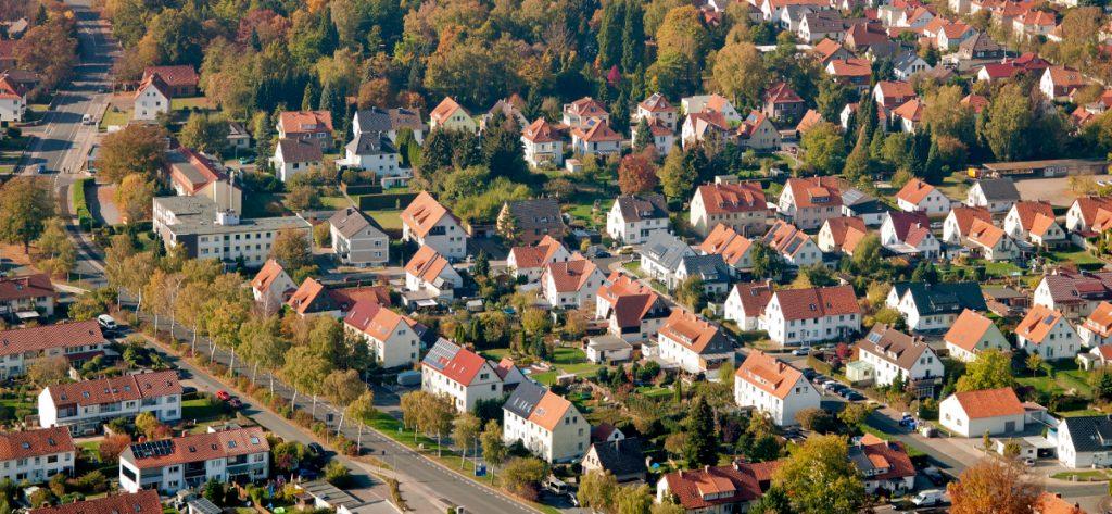 Bild: Häuser in Springe