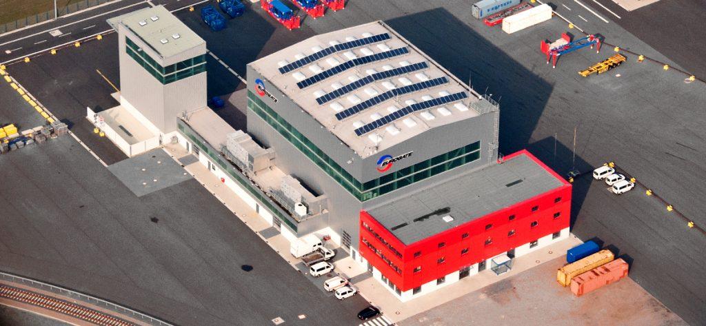 Luftbild: Eurogate Wilhelmshaven