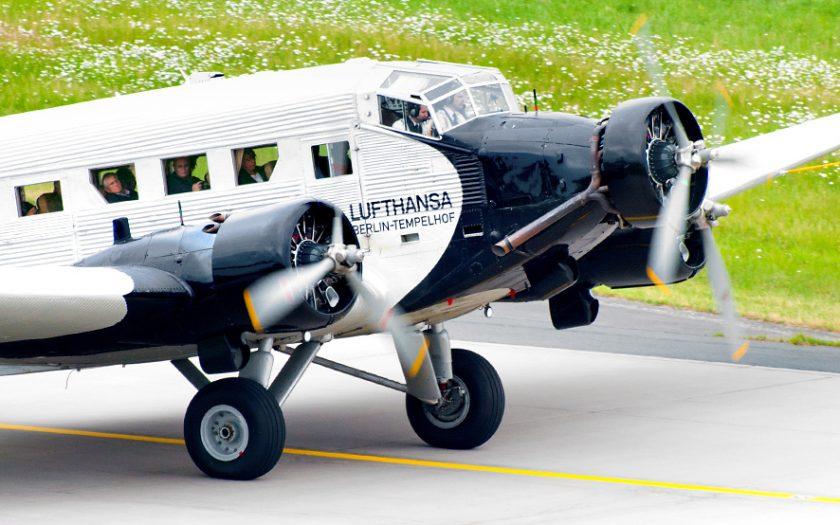 Bild: Junkers Ju-52 D-AQUI Lufthansa