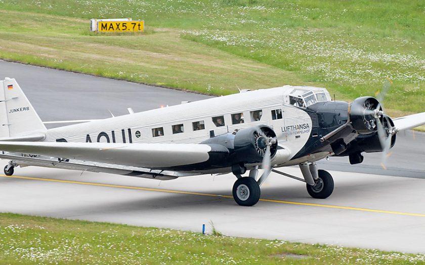 Bild: Lufthansa-Ju52