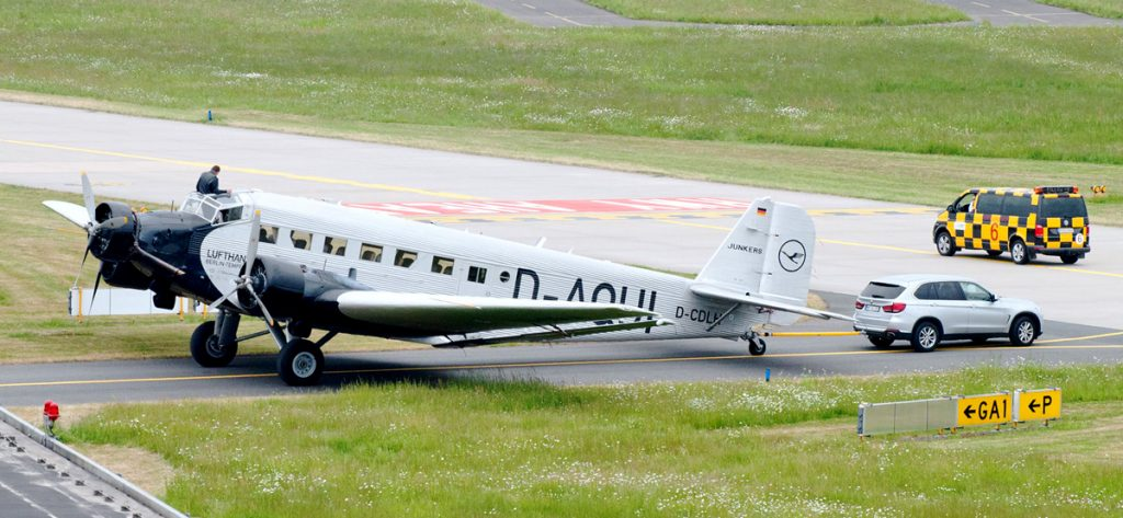 Bild: Lufthansa Ju 52