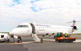 Bild: Lufthansa-Regional-Flugzeug