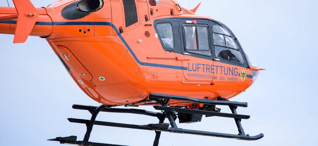 Bild: Rettungshubschrauber Closeup
