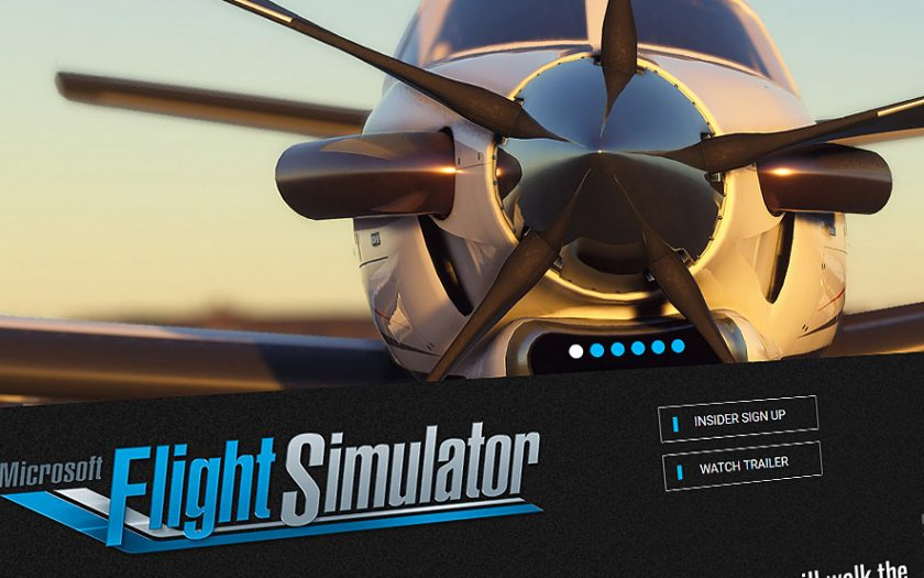 Screenshot: Microsoft Flight Simulator 2020