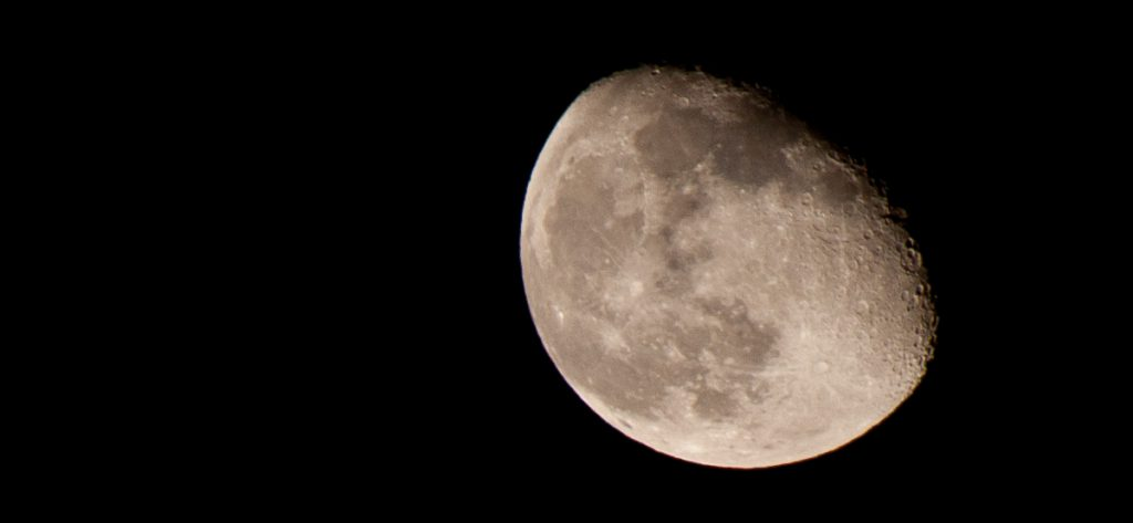 Mond (Symbolfoto)