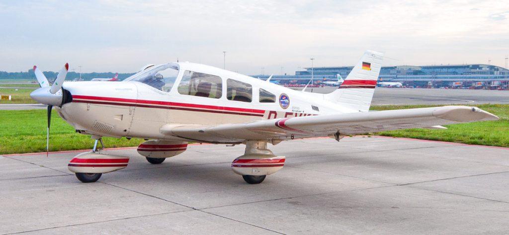 Bild: Piper PA28 D-EVKB