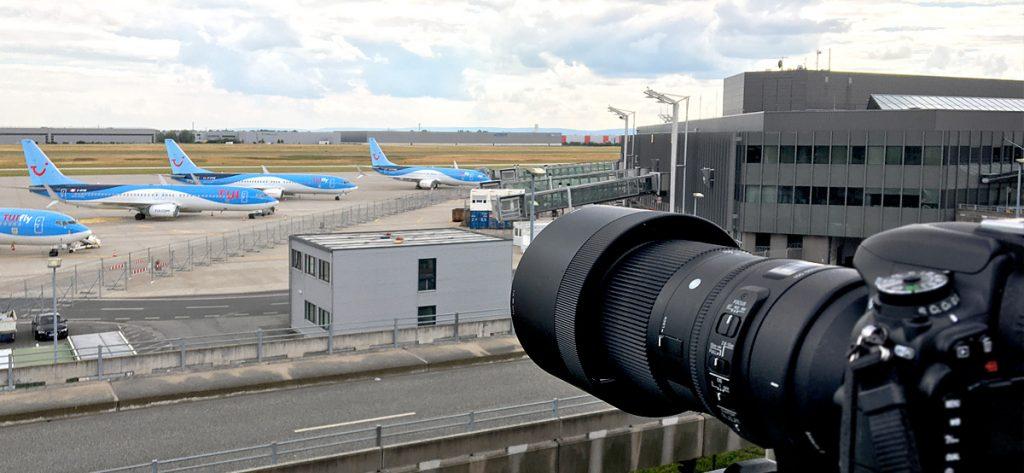 Bild: Planespotting in Hannover