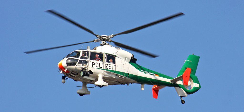 Bild: Polizeihubschrauber D-HOPQ