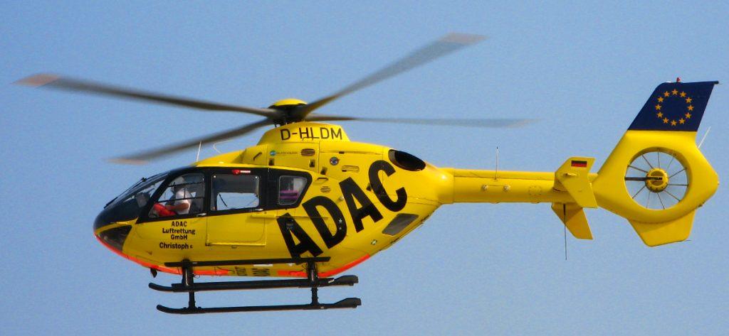 Rettungshubschrauber ADAC