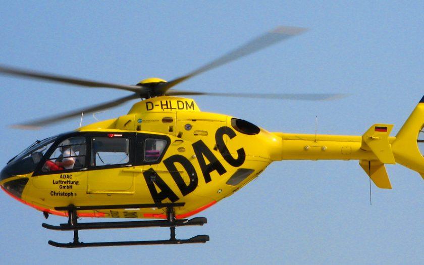 Bild: Rettungshubschrauber D-HLDM