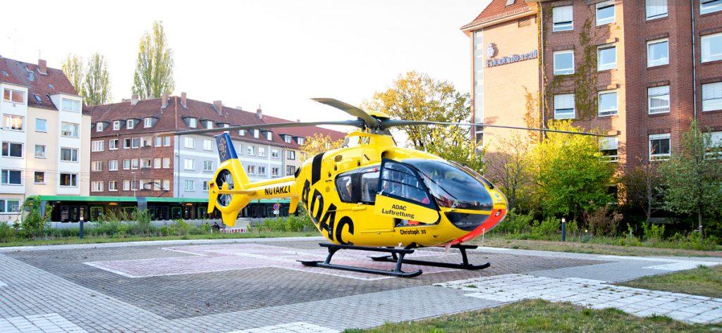 Bild: ADAC-Hubschrauber