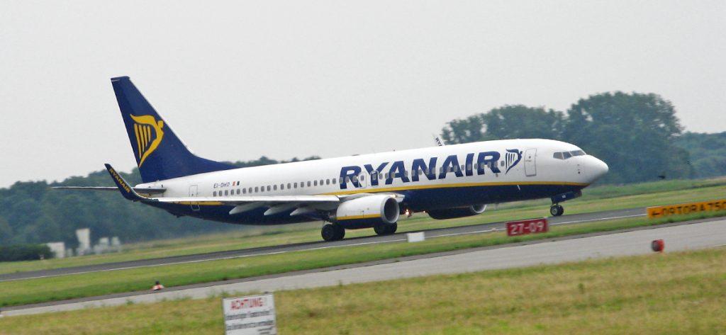 Bild: Ryanair-Maschine in Bremen