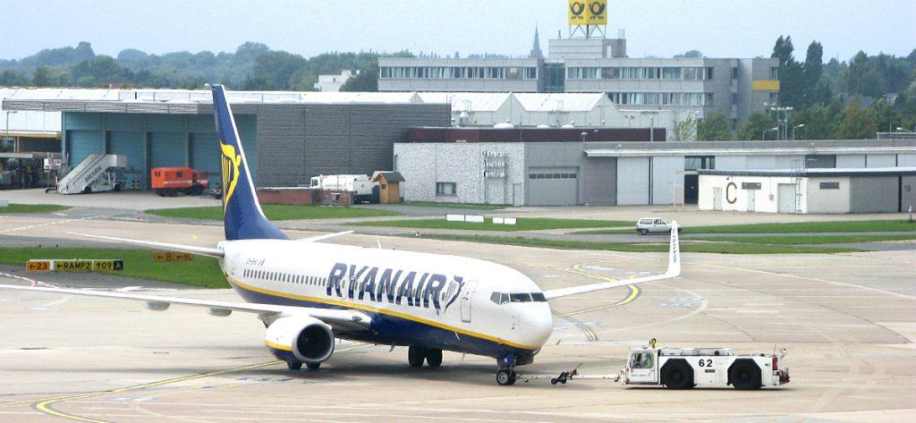 Bild: Ryanair-Flugzeug