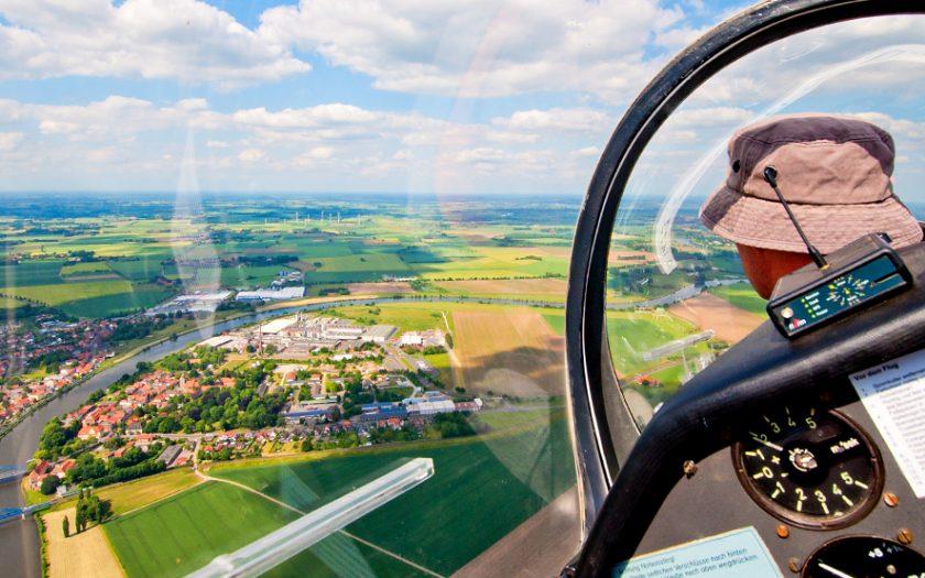 Bild: Cockpit Segelflugzeug