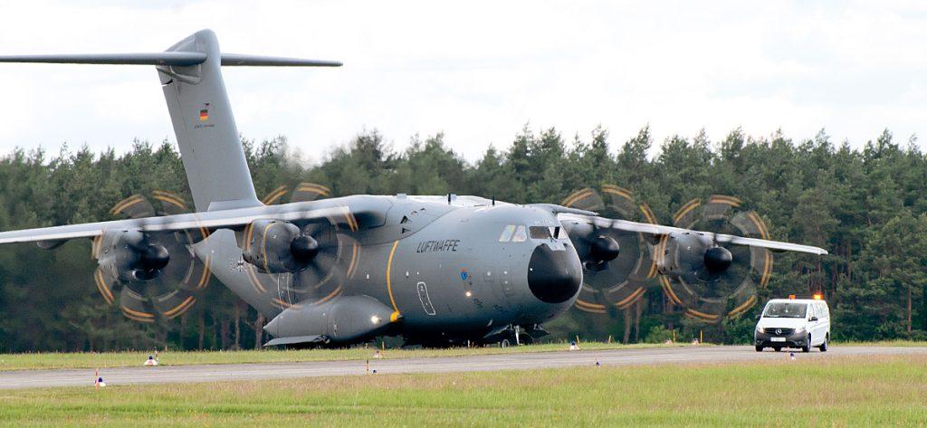 Bild: Airbus A400M 54+23