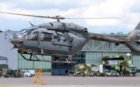 Bild: Hubschrauber Airbus H145M