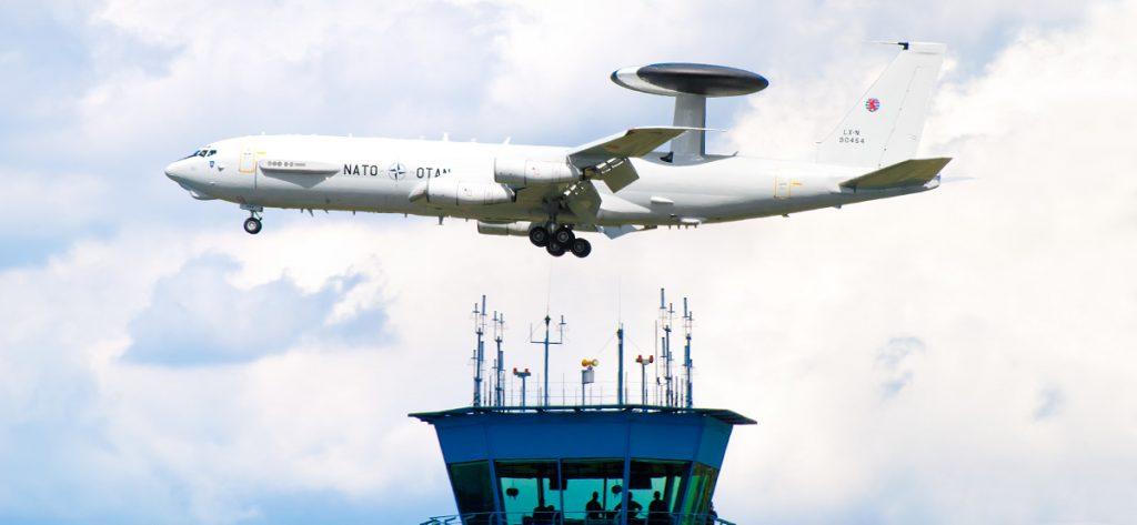 Bild: Boeing E3A LX-N90454