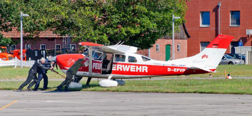 Bild: Cessna 206 D-EFVP