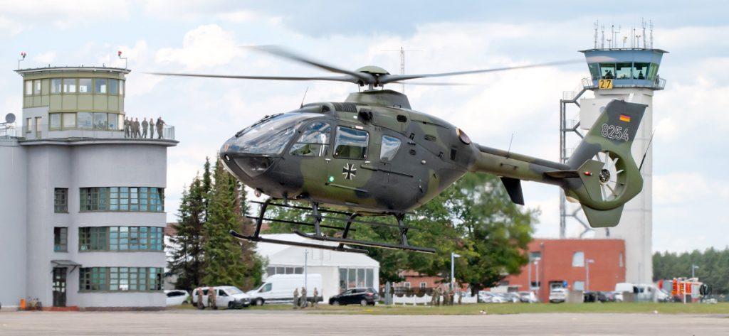Bild: Bundeswehrhubschrauber EC-135