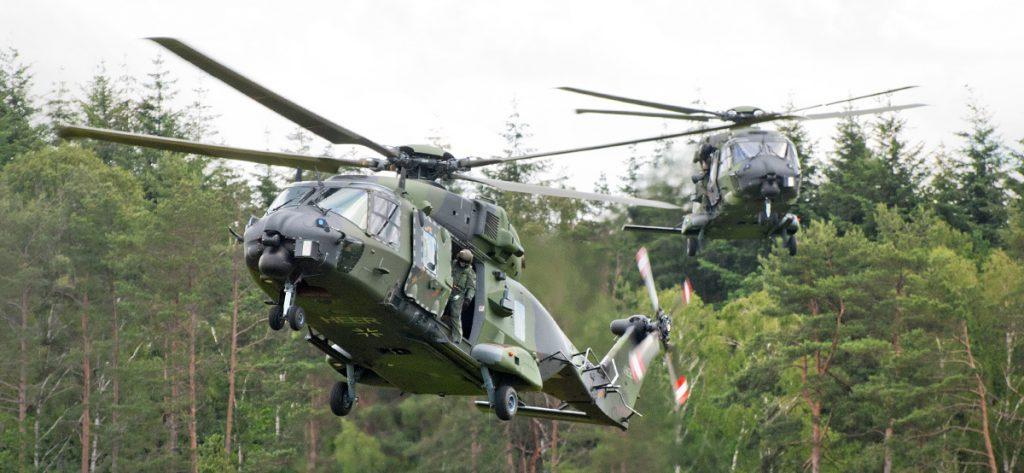 Bild: NH90 Hubschrauber