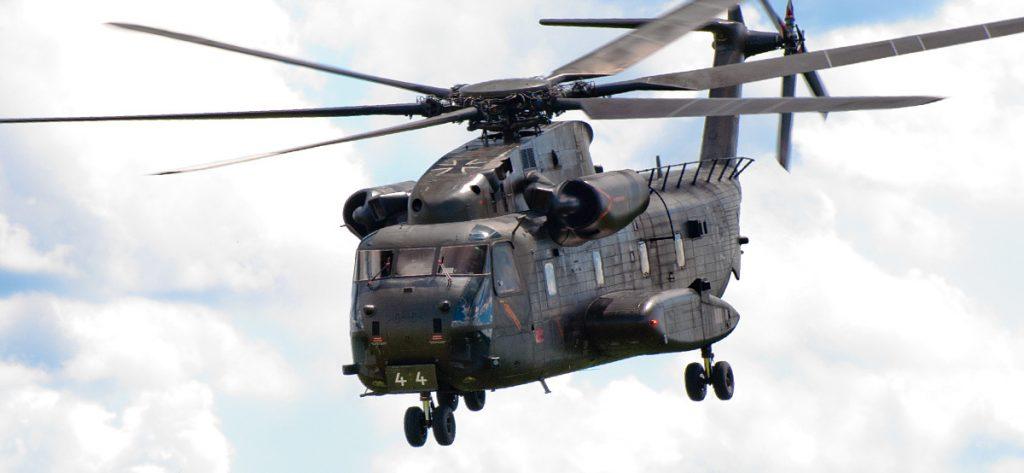 Bild: Sikorsky CH-53 84+44