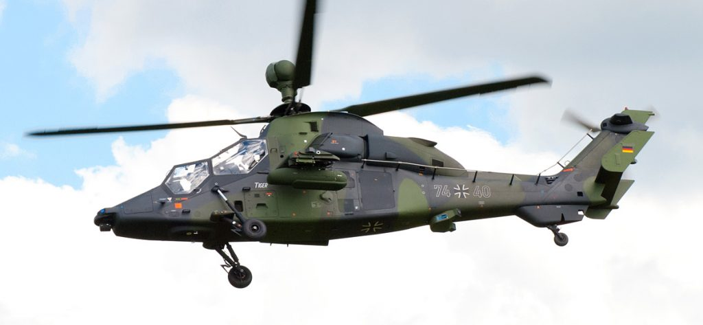 Bild: Eurocopter Tiger 74+40