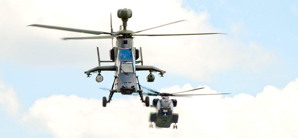 Bild: Kampfhubschrauber Tiger