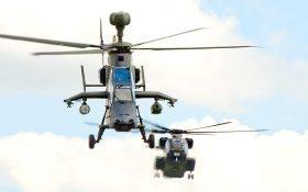 Bild: Kampfhubschrauber Eurocopter Tiger 74+40