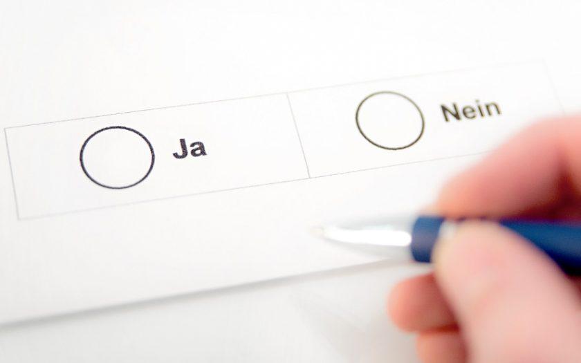 Bild: Stimmzettel-Symbolfoto