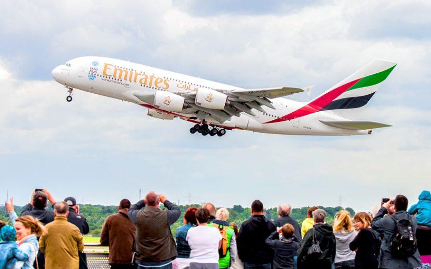 Bild: Airbus A380 Emirates A6-EOB