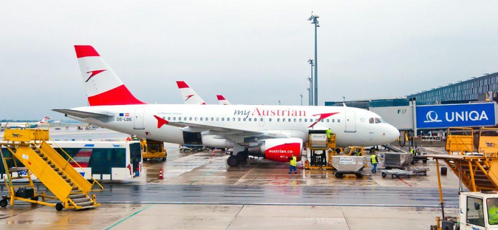 Bild: Airbus A319 OE-LDE