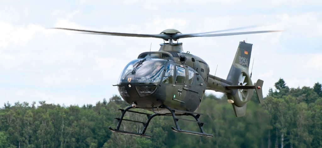 Bild: Bundeswehrhubschrauber 82+54