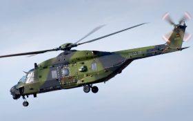 Bild: Hubschrauber NH-90