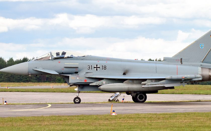 Bild: Eurofighter Typhoon 31+18