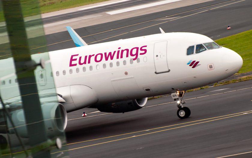 Bild: Eurowings Flugzeug