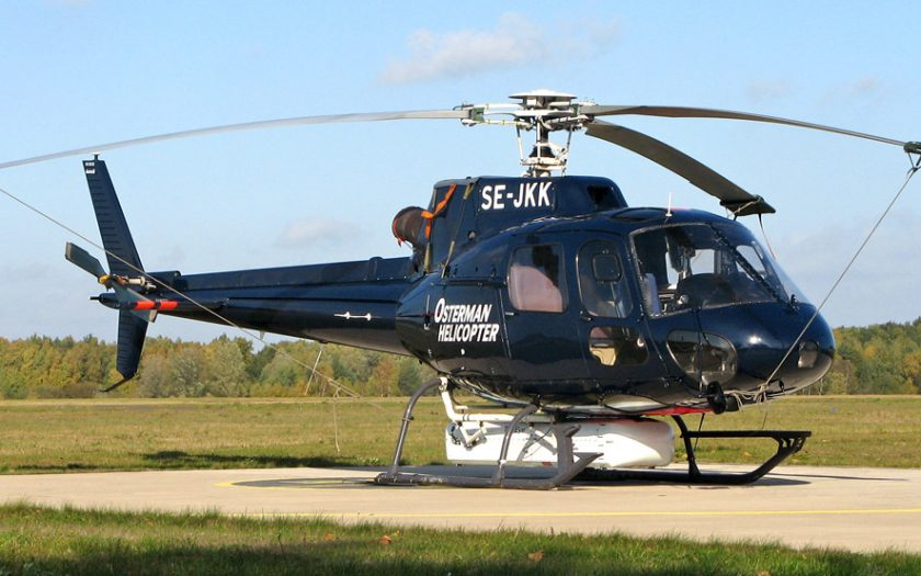 Bild: Aerospatiale AS-350 SE-JKK