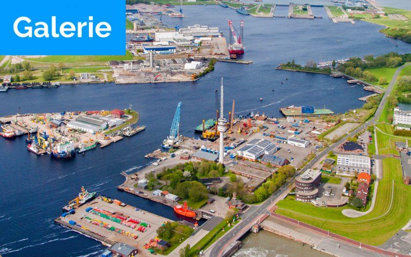 Bild: Titelfoto Luftbilder Wilhelmshaven