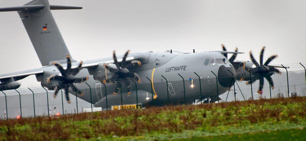 Bild: Airbus A400M 54+04