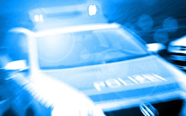 Bild: Polizei-Streifenwagen im Einsatz