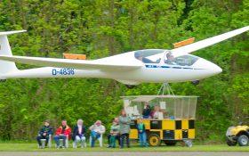 Bild: Segelflugzeug Doppelsitzer