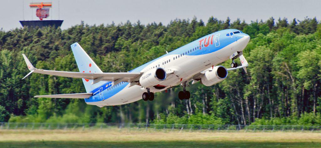 Bild: Flugzeug von TUI