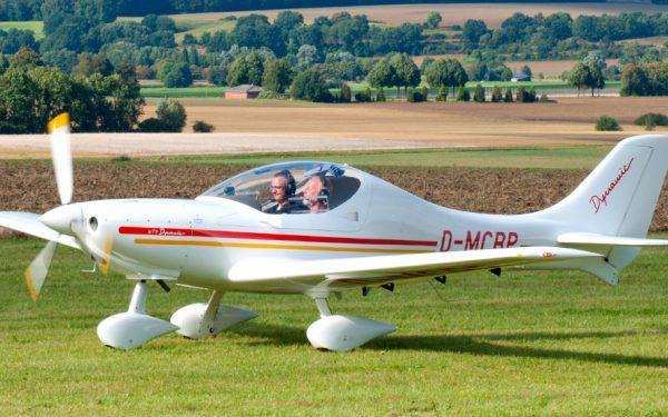 Bild: Ultraleichtflugzeug WT-9