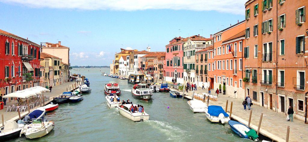 Bild: Kanal in Venedig