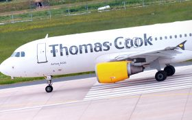 Bild: Thomas-Cook-Flugzeug