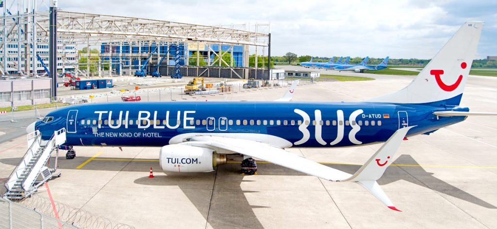 Bild: TUI-Blue Flugzeug