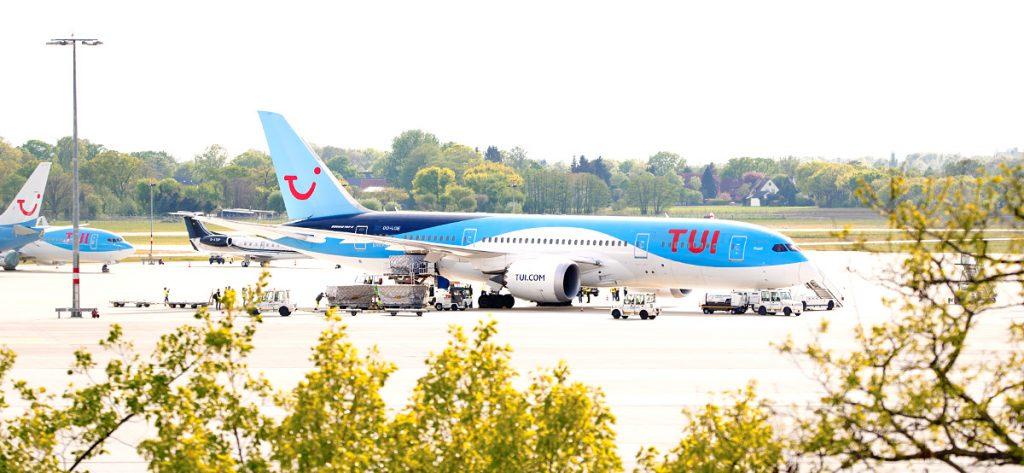 Bild: TUI-Dreamliner